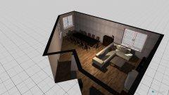 Raumgestaltung Wohnzimmer Raisdorf in der Kategorie Wohnzimmer