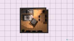 Raumgestaltung Wohnzimmer Reichsstraße in der Kategorie Wohnzimmer