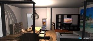 Raumgestaltung Wohnzimmer Richard in der Kategorie Wohnzimmer