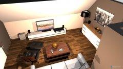 Raumgestaltung Wohnzimmer richtige Maße neue Möbel Variante 1 in der Kategorie Wohnzimmer