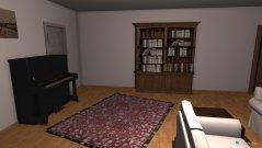 Raumgestaltung Wohnzimmer S17 in der Kategorie Wohnzimmer