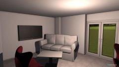 Raumgestaltung Wohnzimmer schlechte Variante in der Kategorie Wohnzimmer