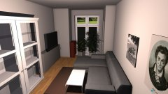 Raumgestaltung Wohnzimmer schützi 3 in der Kategorie Wohnzimmer