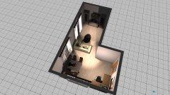 Raumgestaltung Wohnzimmer Silke in der Kategorie Wohnzimmer