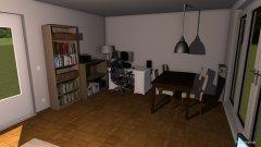 Raumgestaltung Wohnzimmer Sofa links in der Kategorie Wohnzimmer