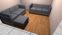 Raumgestaltung Wohnzimmer Sofas in der Kategorie Wohnzimmer