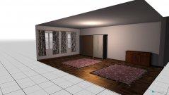 Raumgestaltung Wohnzimmer Stadt in der Kategorie Wohnzimmer
