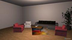 Raumgestaltung Wohnzimmer & Stuckraum in der Kategorie Wohnzimmer