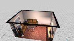 Raumgestaltung wohnzimmer Südansciht in der Kategorie Wohnzimmer