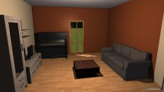 Raumgestaltung Wohnzimmer Teltow in der Kategorie Wohnzimmer