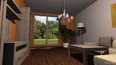 Raumgestaltung Wohnzimmer-Test-Orange in der Kategorie Wohnzimmer