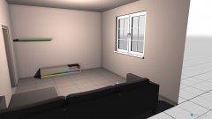 Raumgestaltung wohnzimmer test1 in der Kategorie Wohnzimmer