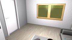 Raumgestaltung Wohnzimmer-Umbau in der Kategorie Wohnzimmer