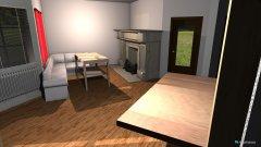 Raumgestaltung Wohnzimmer Umbau in der Kategorie Wohnzimmer