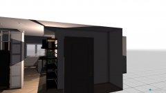 Raumgestaltung Wohnzimmer und Küche SK in der Kategorie Wohnzimmer