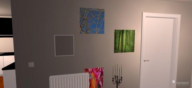 Raumgestaltung wohnzimmer und küche in der Kategorie Wohnzimmer