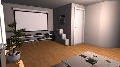 Raumgestaltung Wohnzimmer unten Tassilostraße in der Kategorie Wohnzimmer