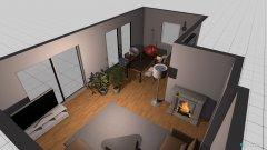 Raumgestaltung Wohnzimmer unten in der Kategorie Wohnzimmer
