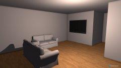 Raumgestaltung Wohnzimmer V1 in der Kategorie Wohnzimmer