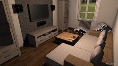 Raumgestaltung Wohnzimmer-v1 in der Kategorie Wohnzimmer