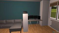 Raumgestaltung wohnzimmer v2 in der Kategorie Wohnzimmer