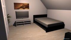 Raumgestaltung Wohnzimmer Variante 1 in der Kategorie Wohnzimmer