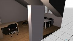Raumgestaltung wohnzimmer Variante 6 in der Kategorie Wohnzimmer