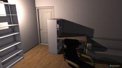 Raumgestaltung wohnzimmer Variante 7 in der Kategorie Wohnzimmer