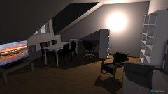 Raumgestaltung wohnzimmer Variante 8 in der Kategorie Wohnzimmer