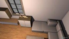 Raumgestaltung Wohnzimmer Variate 2 in der Kategorie Wohnzimmer