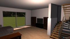 Raumgestaltung Wohnzimmer Version 1 in der Kategorie Wohnzimmer