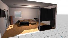 Raumgestaltung Wohnzimmer Versuch in der Kategorie Wohnzimmer
