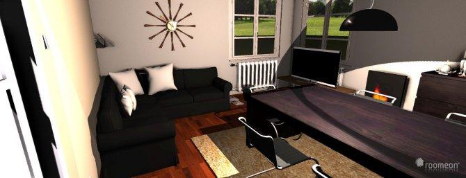 Raumgestaltung Wohnzimmer vorher in der Kategorie Wohnzimmer