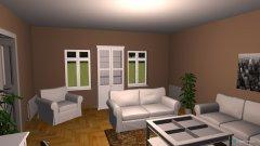 Raumgestaltung Wohnzimmer Vorschlag 1 in der Kategorie Wohnzimmer