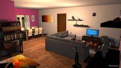 Raumgestaltung Wohnzimmer Weywertz in der Kategorie Wohnzimmer
