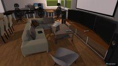 Raumgestaltung Wohnzimmer WG Groß in der Kategorie Wohnzimmer