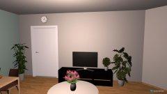 Raumgestaltung Wohnzimmer (WG) in der Kategorie Wohnzimmer