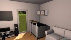 Raumgestaltung Wohnzimmer WG in der Kategorie Wohnzimmer