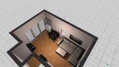 Raumgestaltung Wohnzimmer Whg. 44 in der Kategorie Wohnzimmer