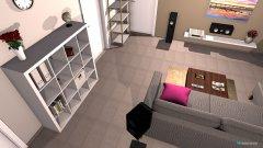 Raumgestaltung Wohnzimmer Winklersgang  in der Kategorie Wohnzimmer