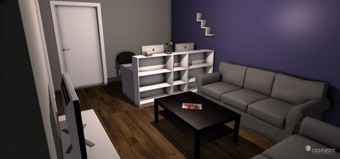 Raumgestaltung wohnzimmer wohnung 2 v2 in der Kategorie Wohnzimmer