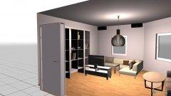 Raumgestaltung Wohnzimmer Zoë & Elin in der Kategorie Wohnzimmer