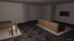 Raumgestaltung Wohnzimmer zwei in der Kategorie Wohnzimmer
