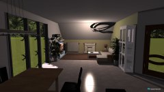 Raumgestaltung wohnzimmer002 in der Kategorie Wohnzimmer