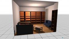 Raumgestaltung Wohnzimmer_Arbeitszimmer 4. Option in der Kategorie Wohnzimmer