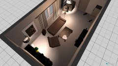 Raumgestaltung Wohnzimmer_Filmset in der Kategorie Wohnzimmer
