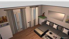 Raumgestaltung Wohnzimmer_Graz_Couch2 in der Kategorie Wohnzimmer