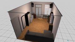 Raumgestaltung Wohnzimmer_Variante 01 in der Kategorie Wohnzimmer