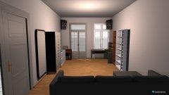 Raumgestaltung Wohnzimmer_Variante 02 in der Kategorie Wohnzimmer