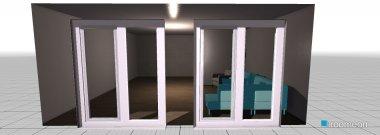 Raumgestaltung WohnzimmerBrunnenstube in der Kategorie Wohnzimmer